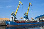 Грузовой порт в Риге, архивное фото