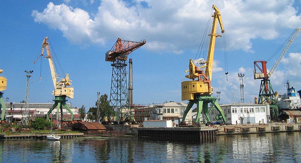 Rīgas osta. Foto no arhīva.