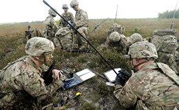Amerikāņu desants mācībās Bayonet Strike Ādažos. Foto no arhīva