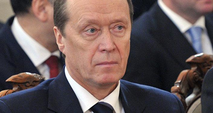 Посол РФ в Латвии Александр Вешняков. Архивное фото