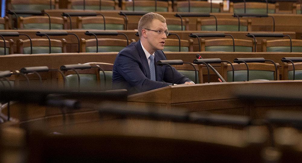 Saeimas deputāts Andrejs Elksniņš