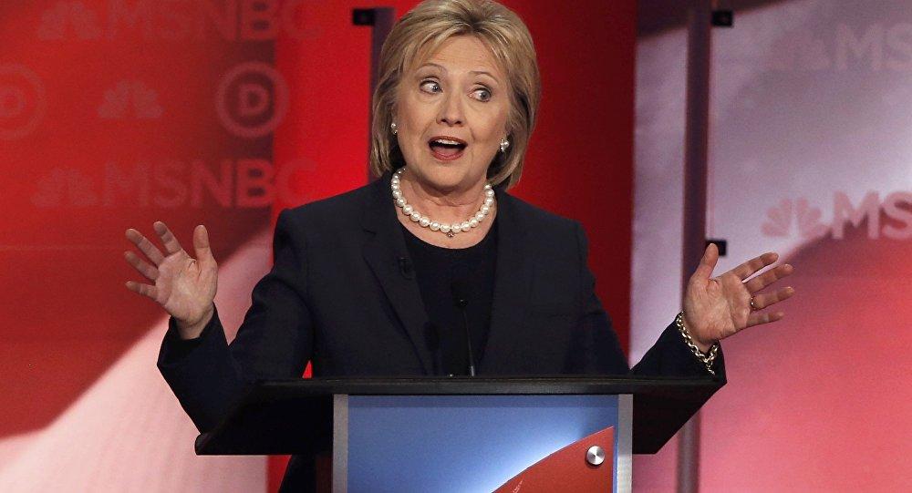 ASV prezidenta kandidāte no Demokrātiskās partijas Hilarija Klintone. Foto no arhīva