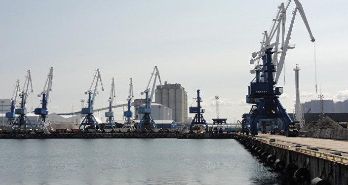 Морской порт в Мууга, архивное фото
