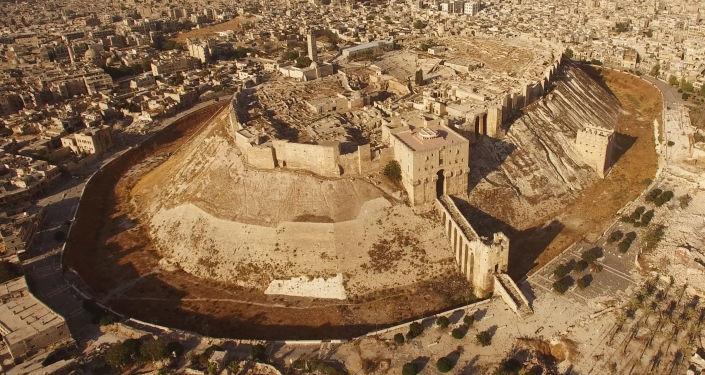 Alepo austrumu kvartāli. Foto no arhīva