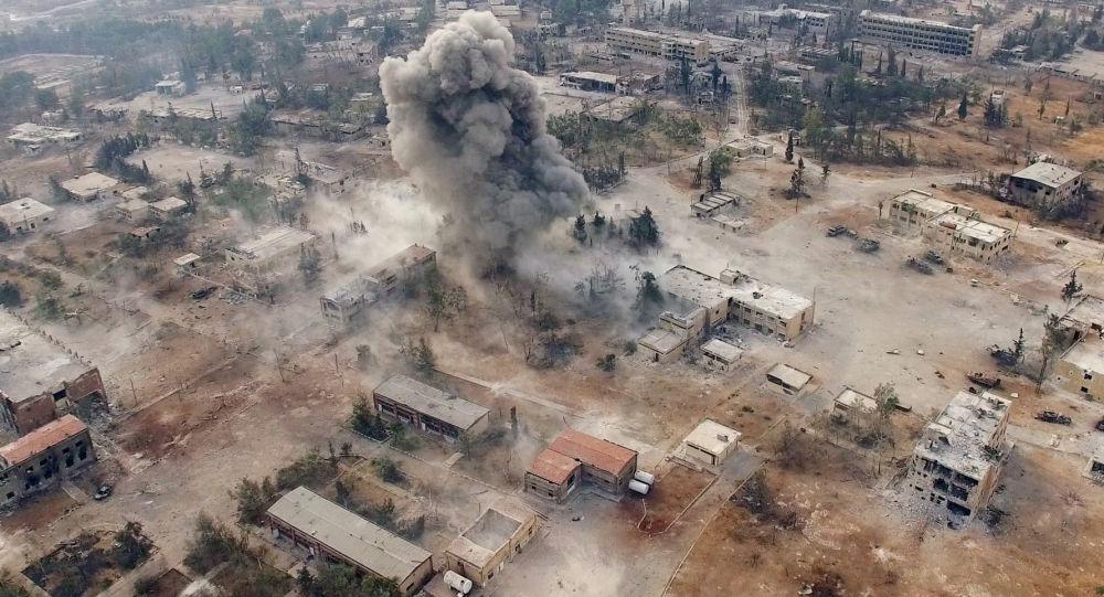 Alepo pilsētas dienvidrietumi.