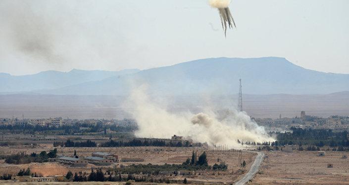 El Karateinas pilsēta Sīrijā. Foto no arhīva
