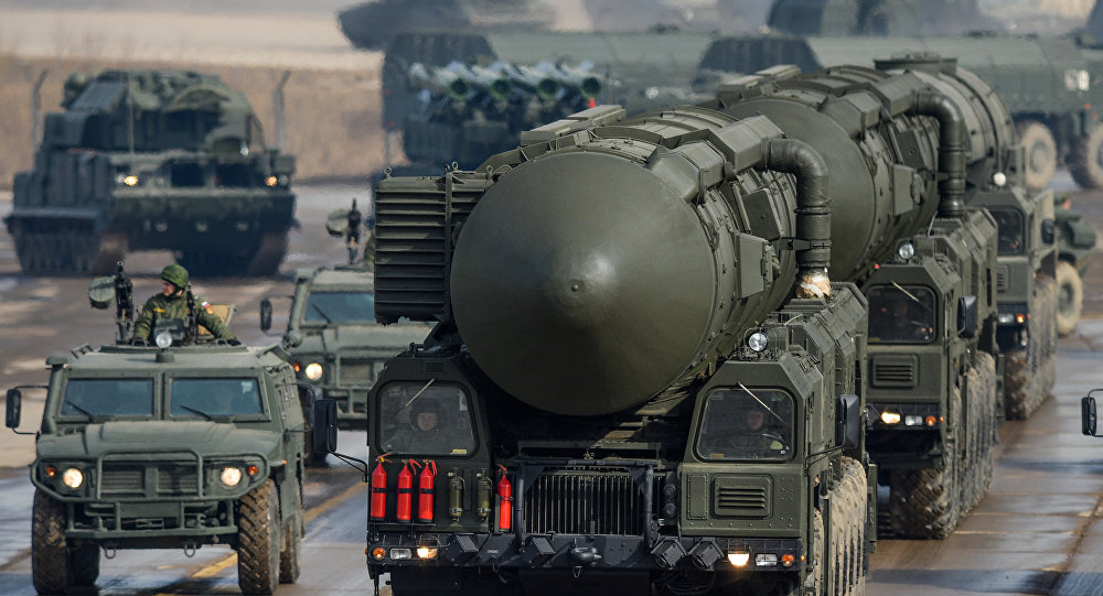 Ballistiskās raķetes Topoļ-M