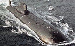 Krievijas atomzemūdene. Foto no arhīva