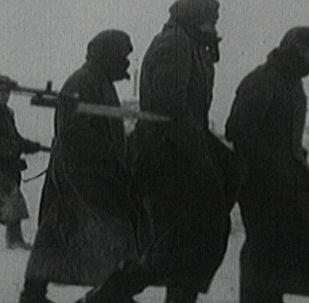 Pirmā Sarkanās armijas uzvara. Kauja par Maskavu 1941. gadā arhīva kadros