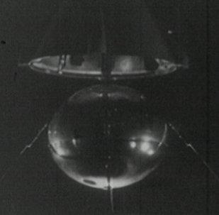 Первая ласточка космической эры. Съемки 1957 года