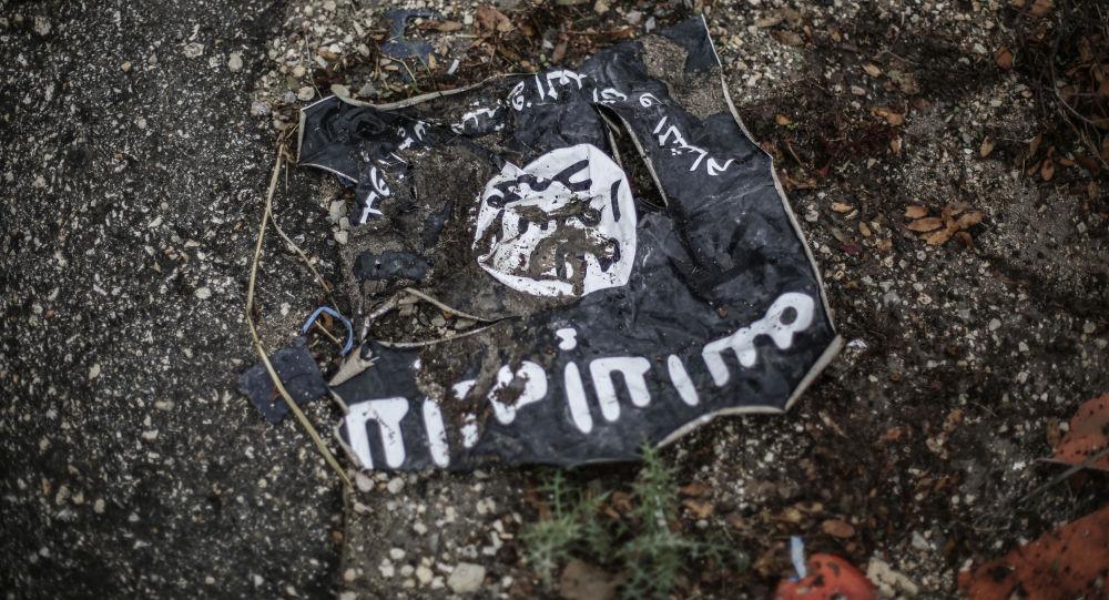 Radikālās organizācijas Islāma valsts karogs