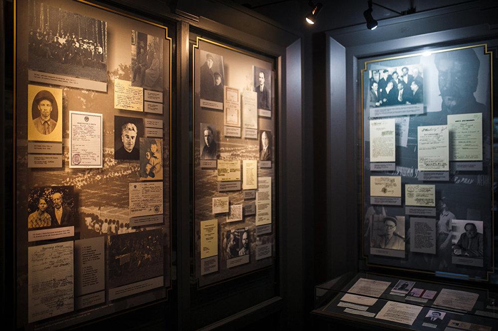 Dala Katiņas muzeja eksponātu veltīta Staļina represiju upuriem – latviešiem.