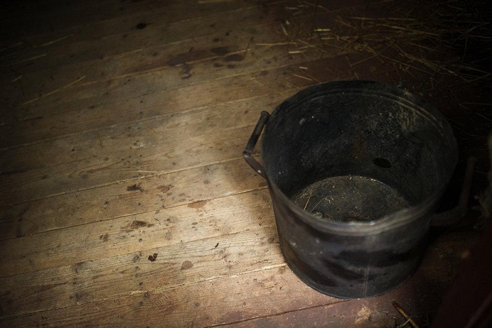 Tualete – šāds spainis vai caurums grīdā. Vagonus nevēra vaļā nedēļām ilgi, līdz sastāvs nonāca pie mērķa.