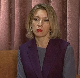 Marija Zaharova komentēja ASV pastāvīgās parstāves ANO Samantas Paueres izteikumus par Krievijas barbarisko rīcību Sīrijā
