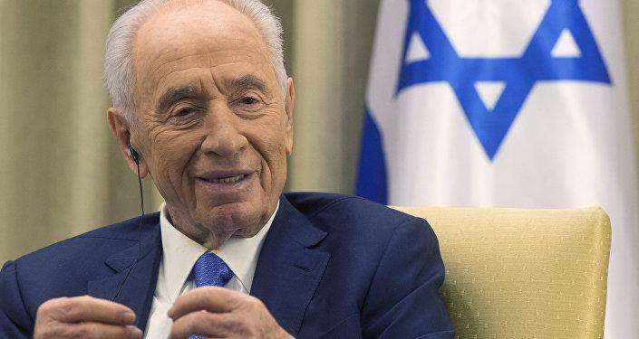 Архивное фото экс-президента Израиля Шимона Переса