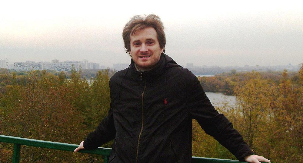 Архивное фото старшего преподавателя кафедры зарубежного регионоведения и внешней политики РГГУ Вадима Трухачева