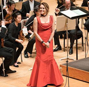 Operas zvaigzne Kristīne Opolais. Foto no arhīva