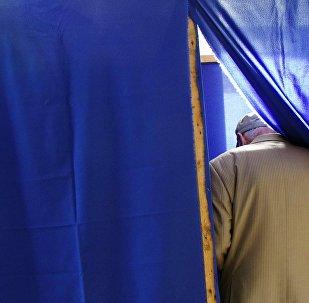 Голосование на выборах в России, архивное фото
