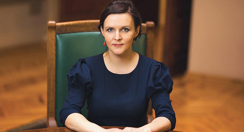 Депутат Сейма Латвии Юлия Степаненко, архивное фото