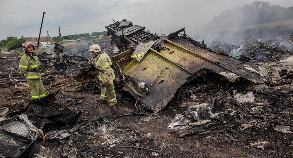 Архивное фото: крушение малайзийского Boeing на Украине