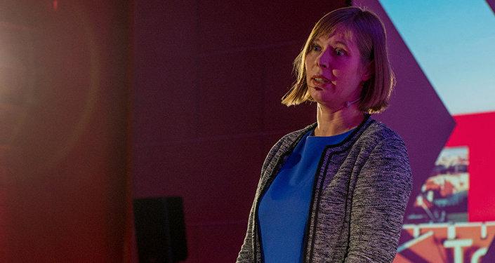 Par piekto Igaunijas Republikas prezidentu ievēlēta Kerste Kaljulaida. Foto no arhīva