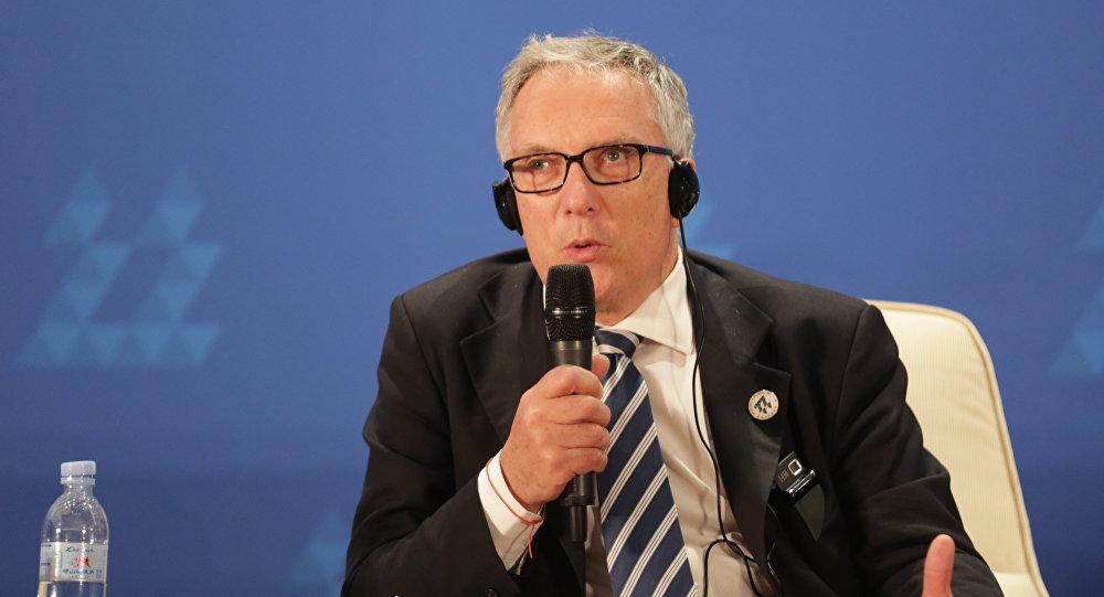 Šveiciešu vēsturnieks, profesors Gijs Metāns (Guy Mettan)