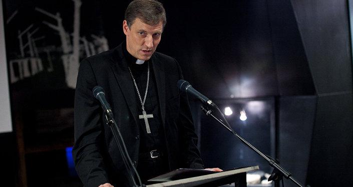 Romas Katoļu Baznīcas Rīgas arhibīskaps-metropolīts Zbigņevs Stankevičs. Foto no arhīva.