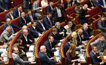 Ukrainas Augstākajā rada. Foto no arhīva