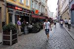 На улицах Старой Риги