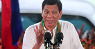 Filipīnu prezidents Rodrigo Duterte. Foto no arhīva