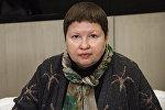 Председатель комиссии Общественной палаты РФ по развитию общественной дипломатии и поддержке соотечественников за рубежом Елена Сутормина