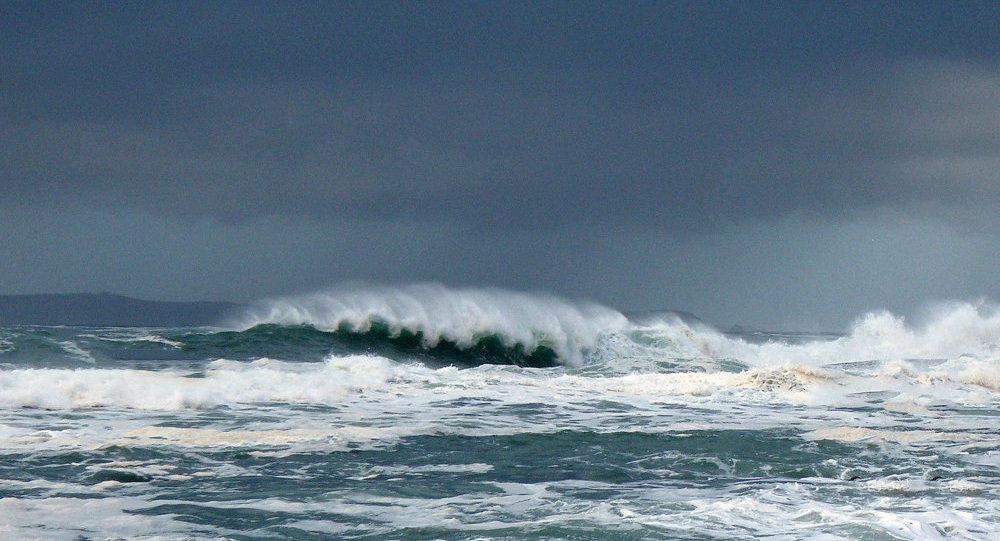 Vētra jūrā. Foto no arhīva.