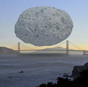 Asteroīds Dionīss ir aptuveni 1,5 km diametrā, un tas ir viens no lielākajiem Apollo jostā. Tomēr tas nevar aizsegt pat vienu Sanfrancisko tilta Zelta vārti posmu