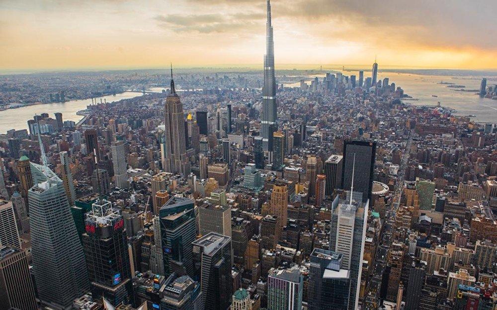 Pasaulē visaugstākā ēka ir Dubaijas debesskrāpis Burj Khalīfah. Ja tā būtu izvietota Ņujorkā, tad tā pārspētu Pasaules tirdzniecības centra ēku par 305 metriem, bet Empire State Building ēku – par 396 metriem.
