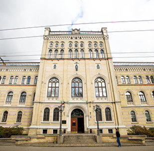 Главное здание Латвийского университета