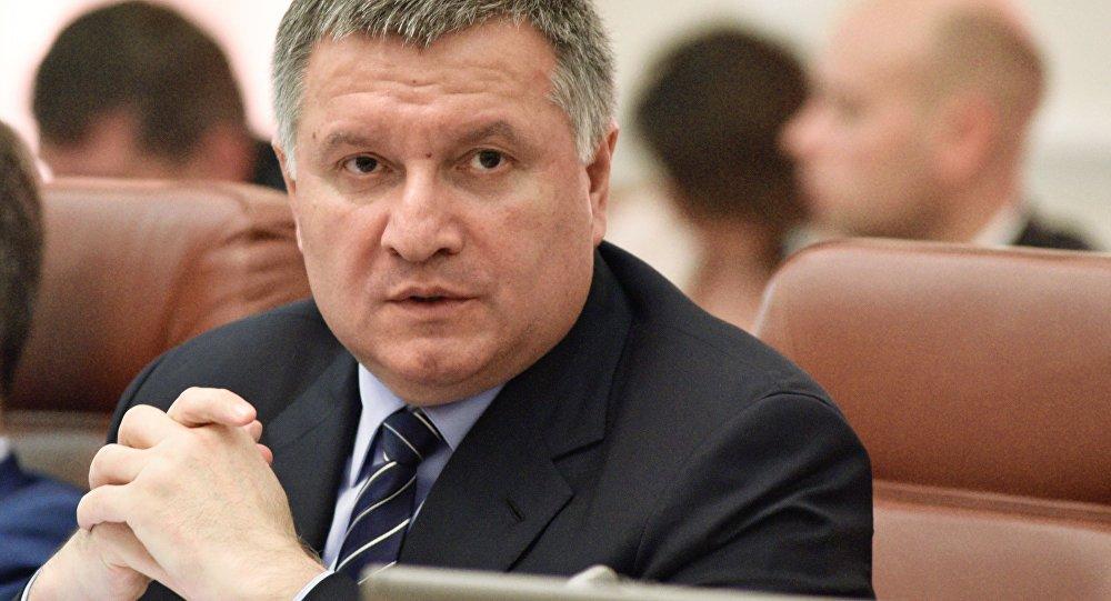 Ukrainas iekšlietu ministrs Arsens Avakovs. Foto no arhīva