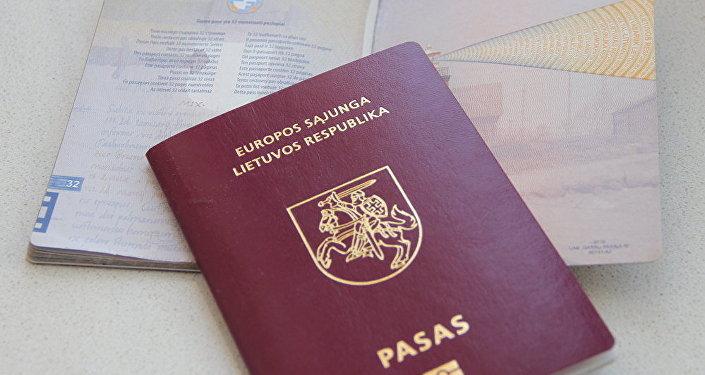 Литовские паспорта