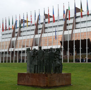 Eiropas  Pils Strasbūrā, kur notiek EPPA sēdes