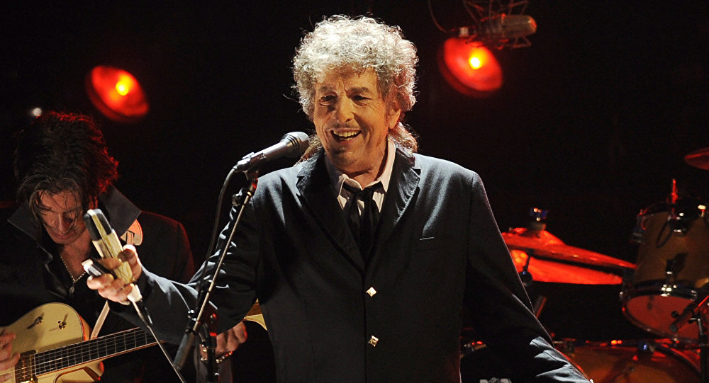 Музыкант Боб Дилан