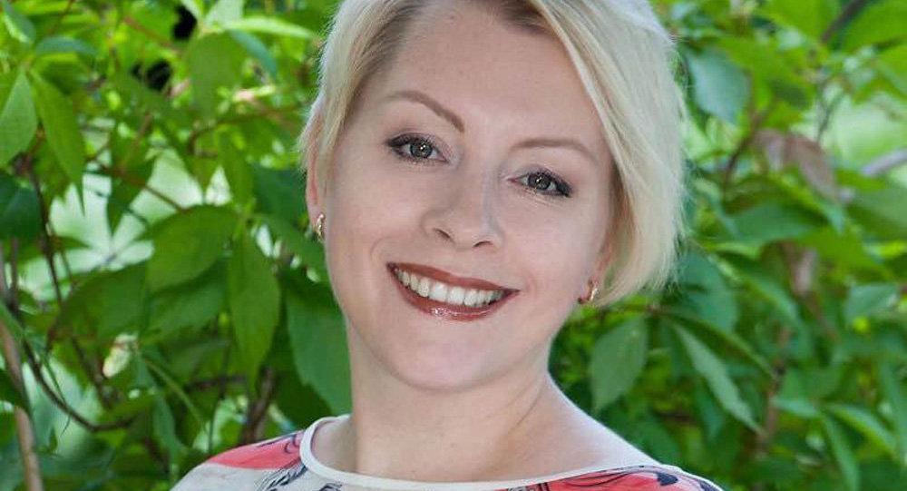 Ольга Суконникова, организатор всемирного латышского диктанта