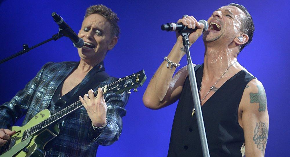 Концерт Depeche Mode в Москве, архивное фото