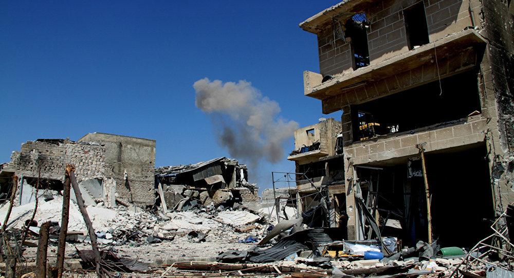 Atbrīvots Ramuse rajons Alepo dienvidos