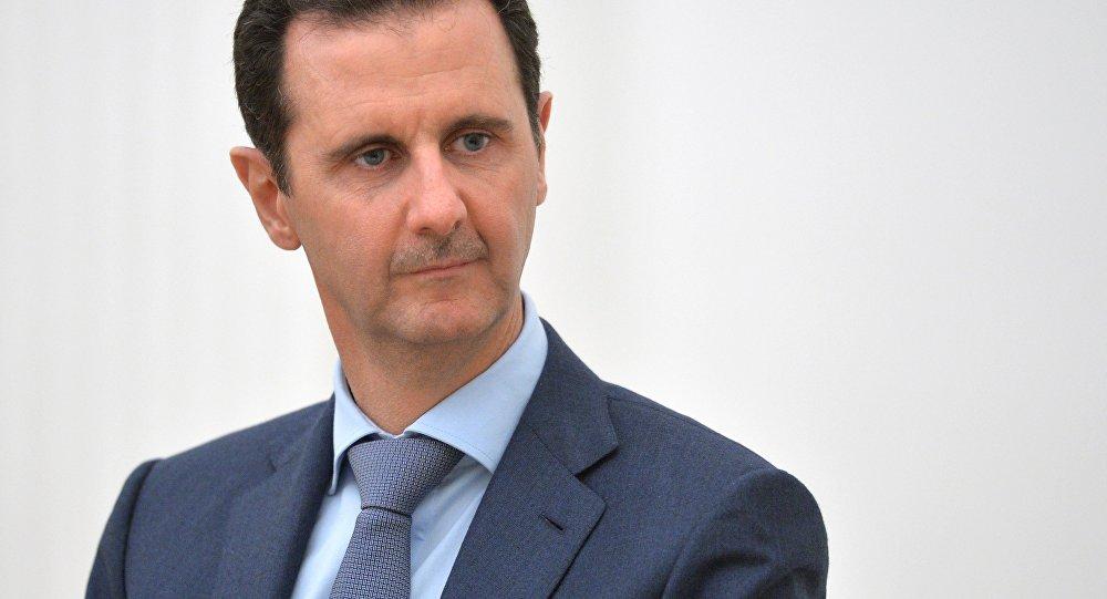 Sīrijas prezidents Bašars Asads. Foto no arhīva