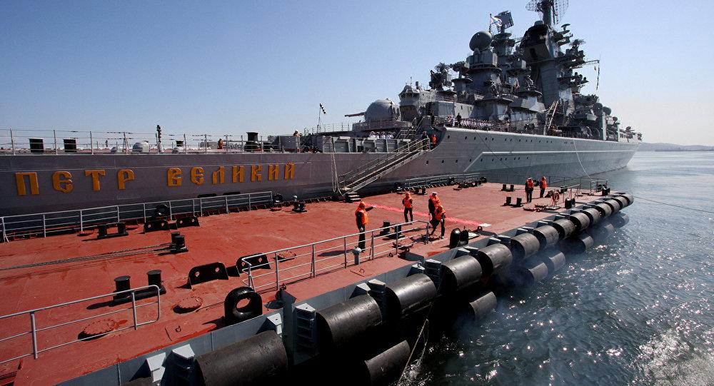 Тяжелый автомный ракетный крейсер Петр Великий