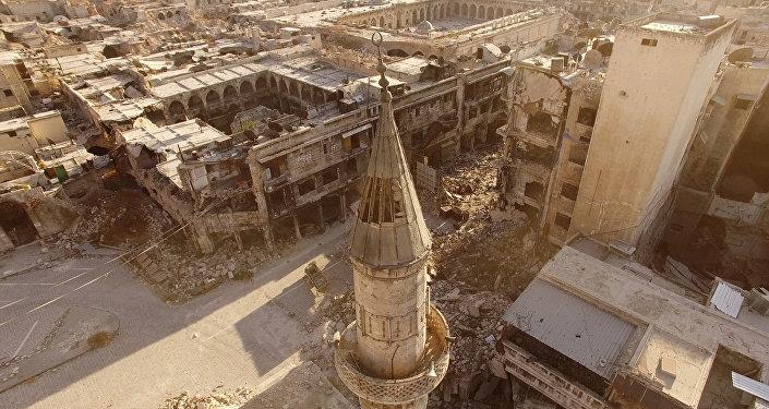 Alepo. Foto no arhīva