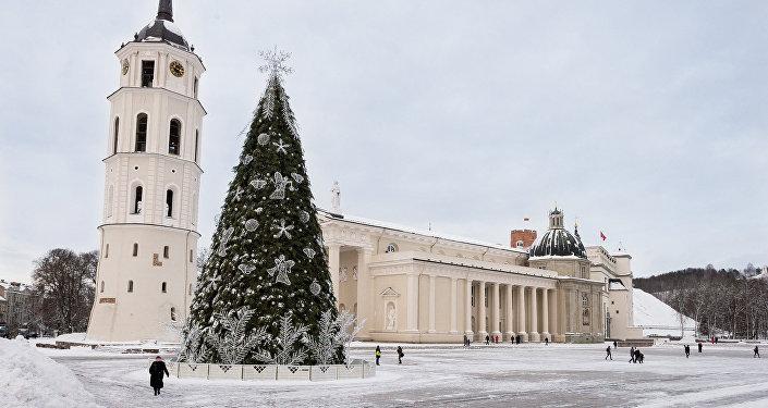 Рождество в Вильнюсе. Архивное фото