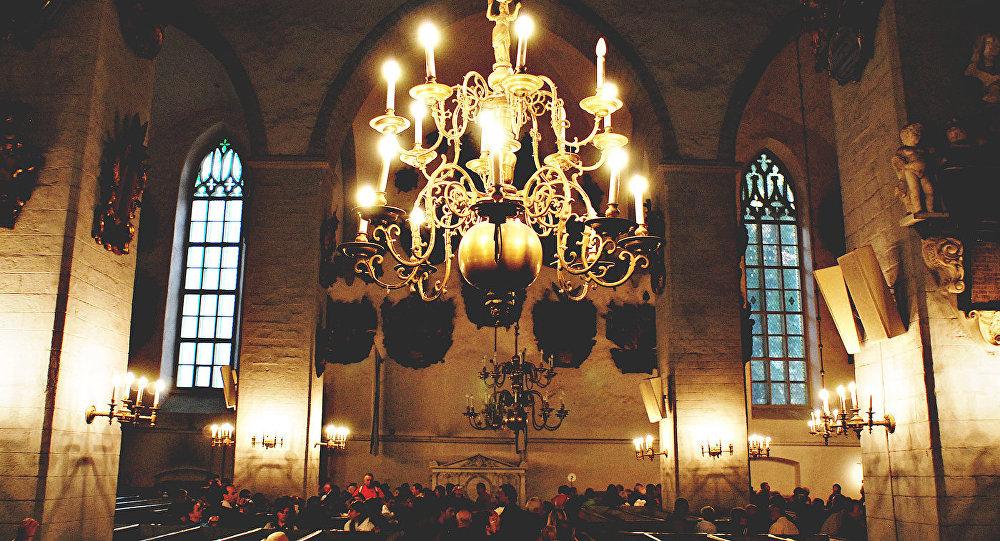 Церковь Святого Олафа. Архивное фото