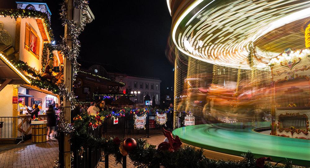 Рождество во Франкфурте. Архивное фото