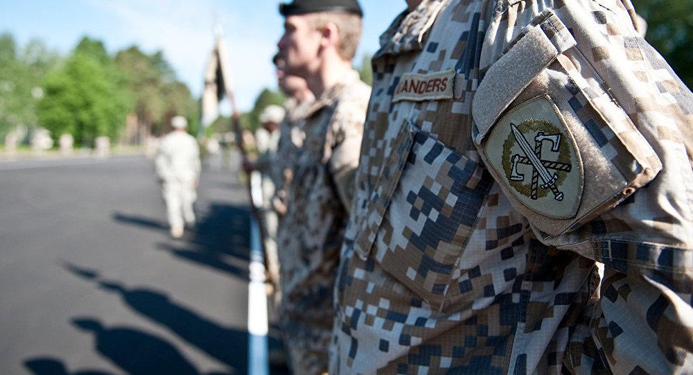 Латвийская армия. Архивное фото