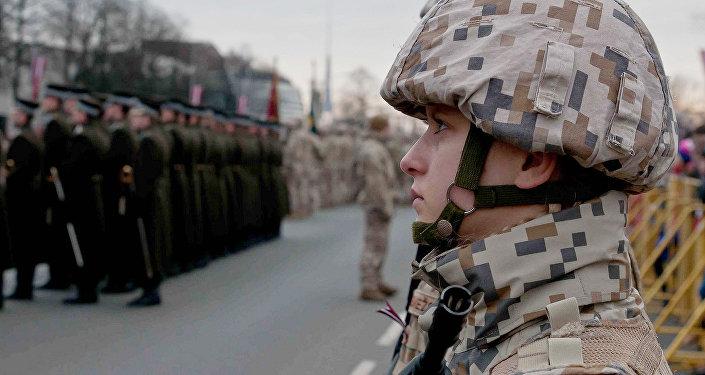 Latvijas armija. Foto no arhīva